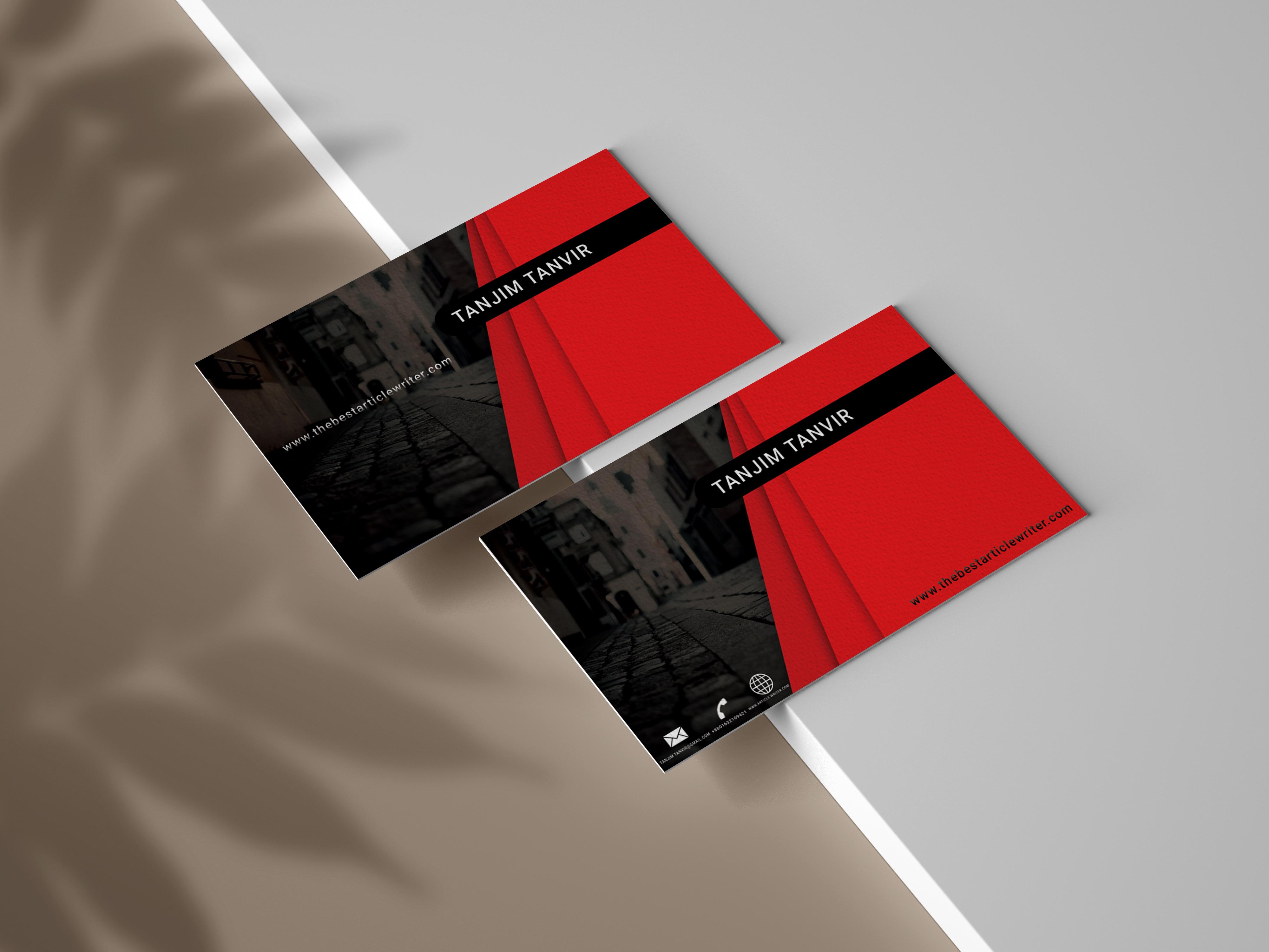 I will do striking business card design 24h