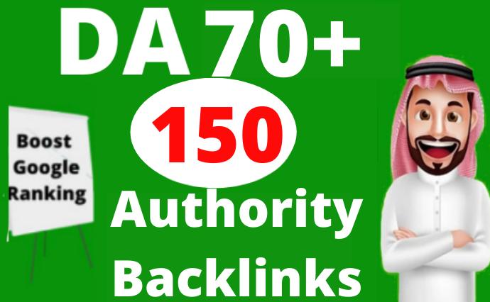40 High Authority Backlinks DA 70 Plus High Quality SEO Dofollow Backlinks