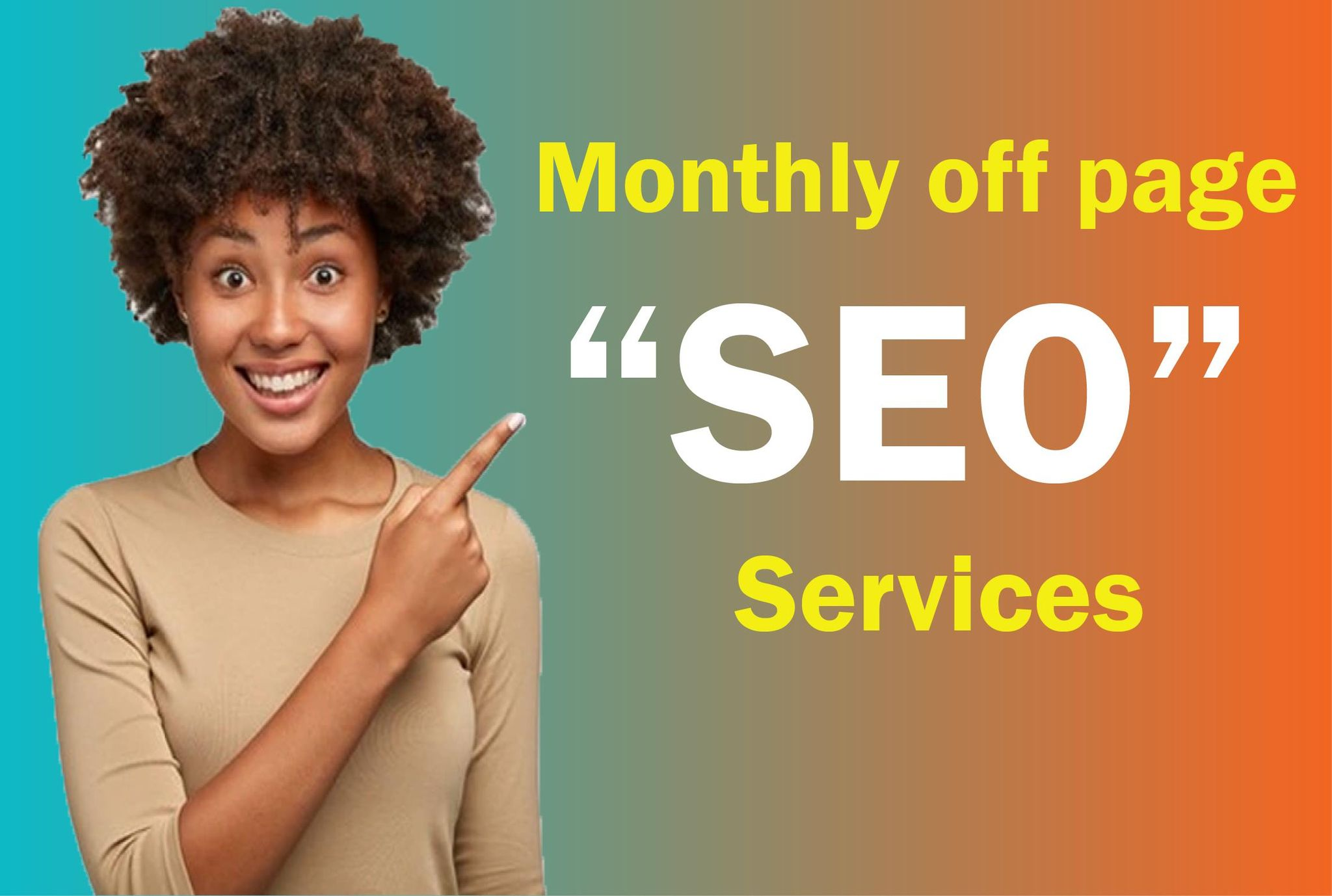 I will do off page monthly seo for google ranking
