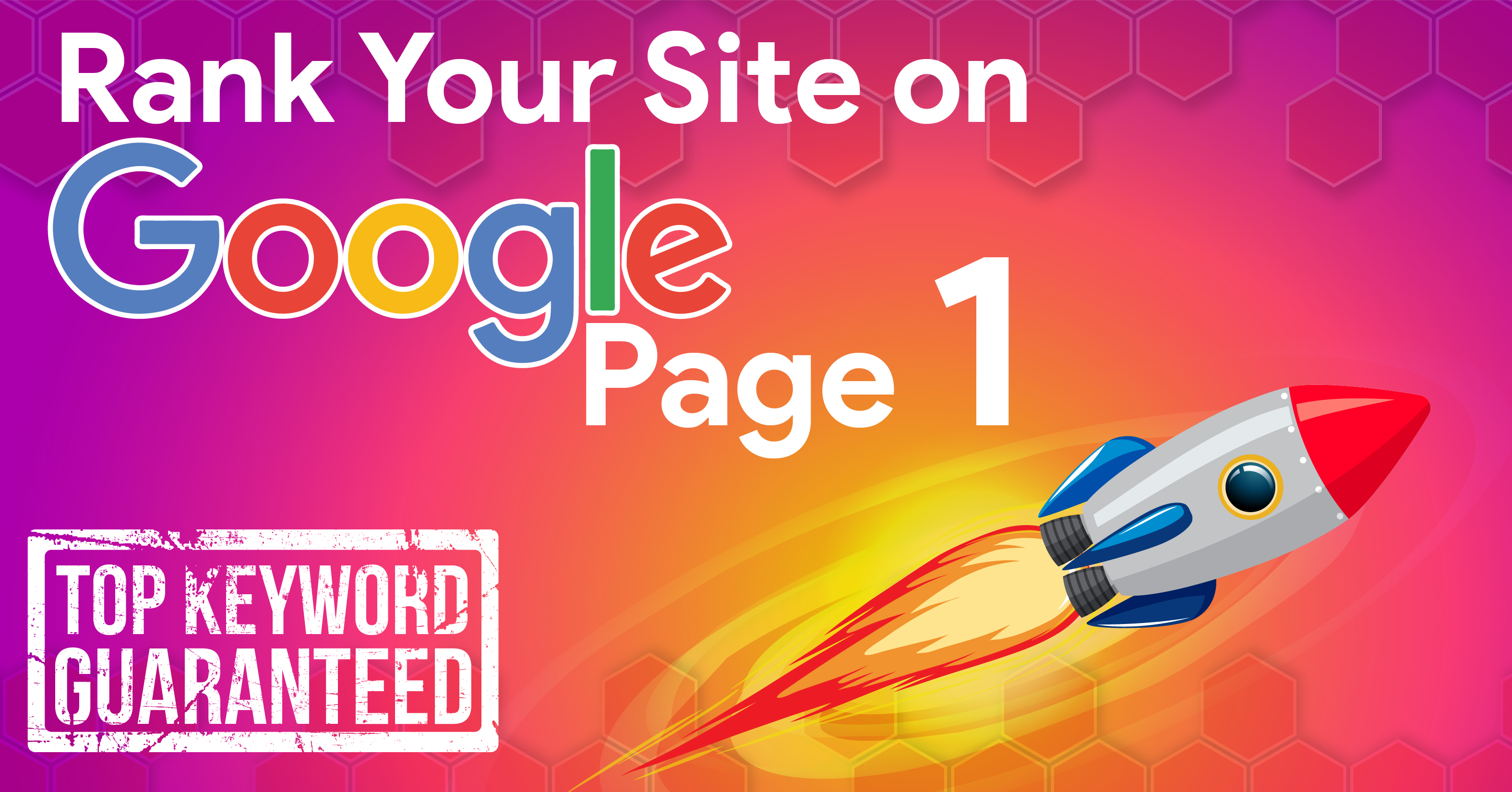 Rank your website in Google 1st page