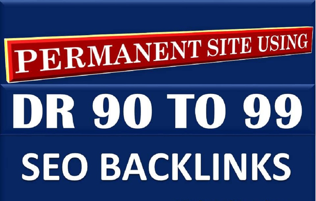 do trusted contextual dofollow tiered backlinks Permanently increase domain rating DR 99+