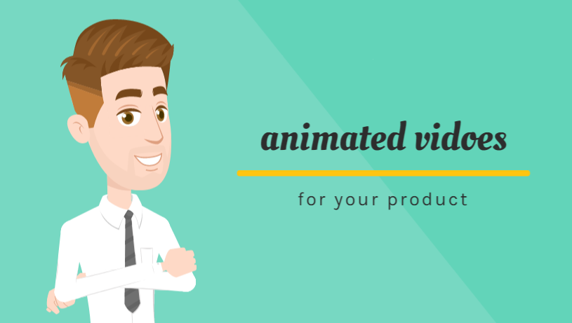I will make a good,  fun and professional animated promotional videos for your product