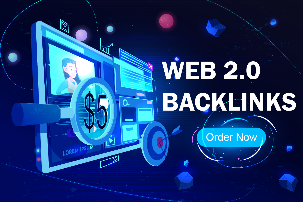 I Will Build 20 Web 2.0 Backlink From High DA Sites