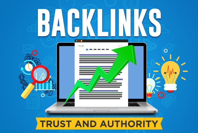 I will do manually create high authority seo backlinks from top brands