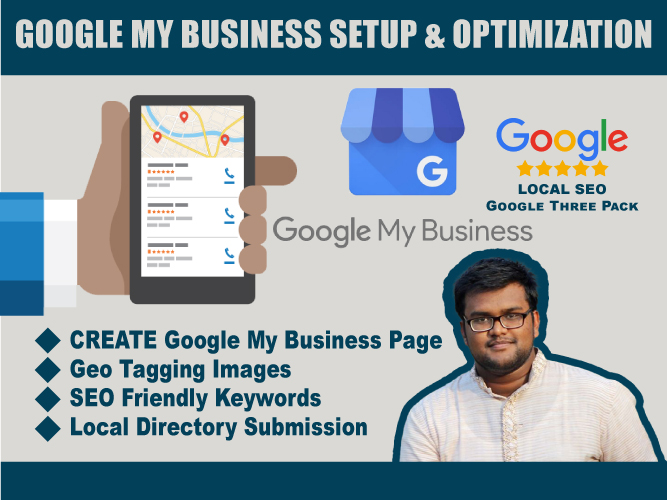 I will create and optimize Google My Business listing