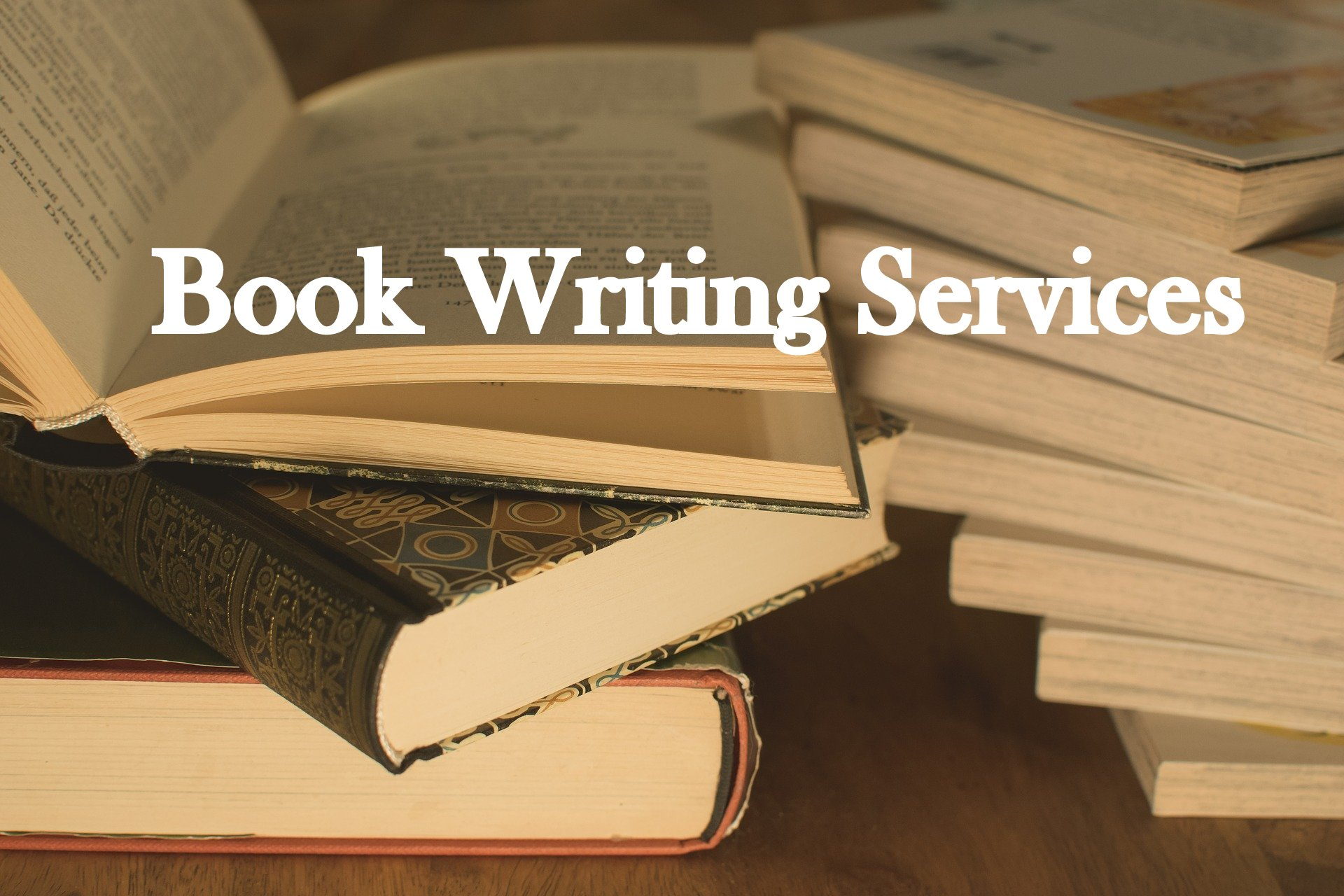 I will write books and ebooks on your behalf