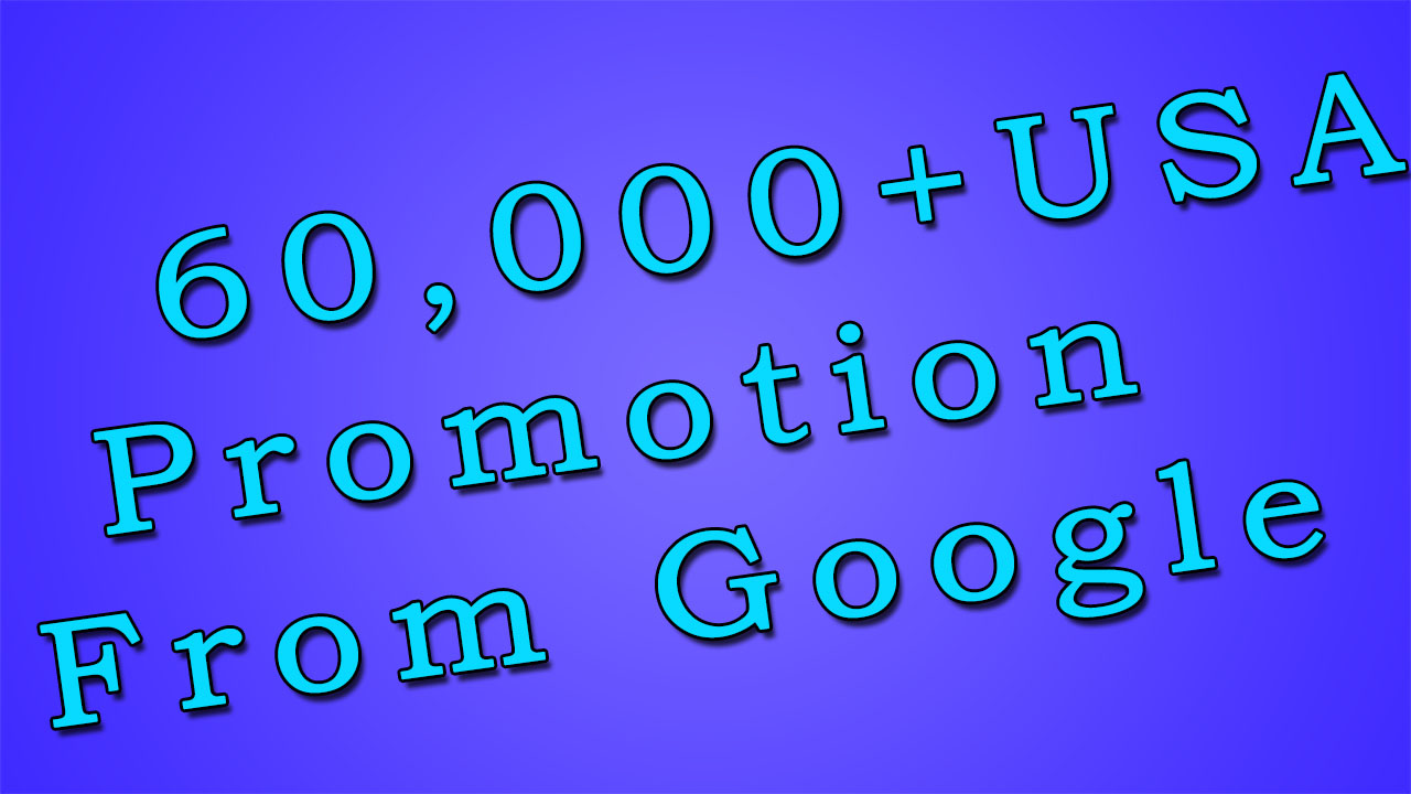 6 Month USA Keyword Targeted Promotion From Google