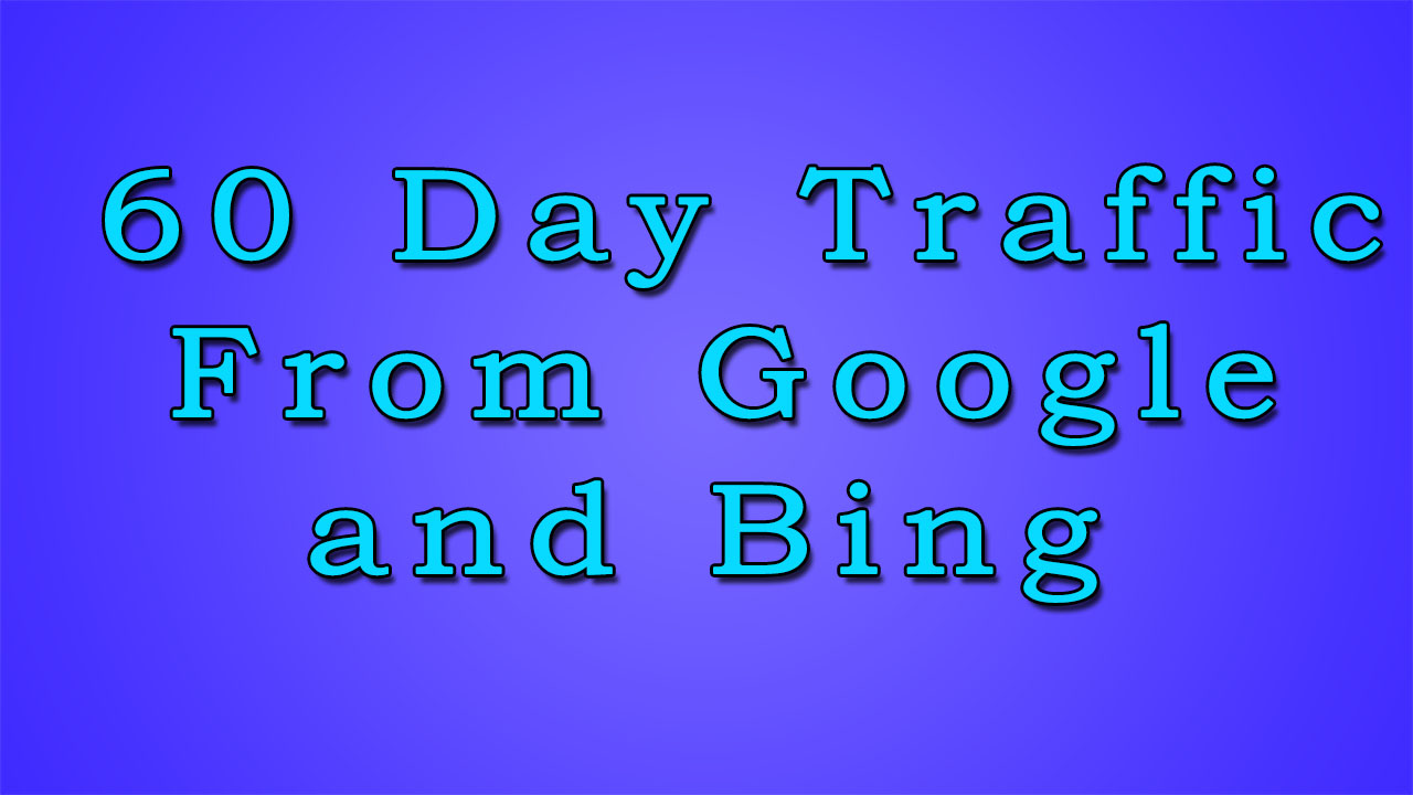 keyword targeted Traffic For 60 day From Google and Bing