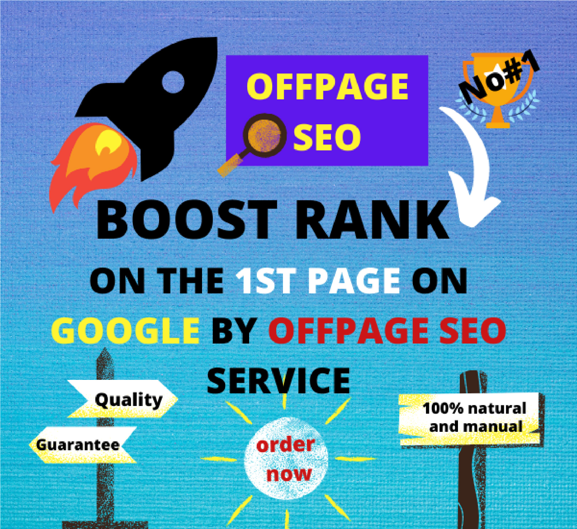 Boost your website by doing 50+ permanent natural mix backlinks and high-quality link building.
