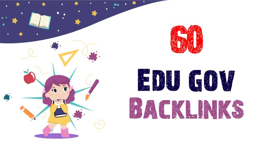 I will do 60 high da premium quality edu gov backlinks