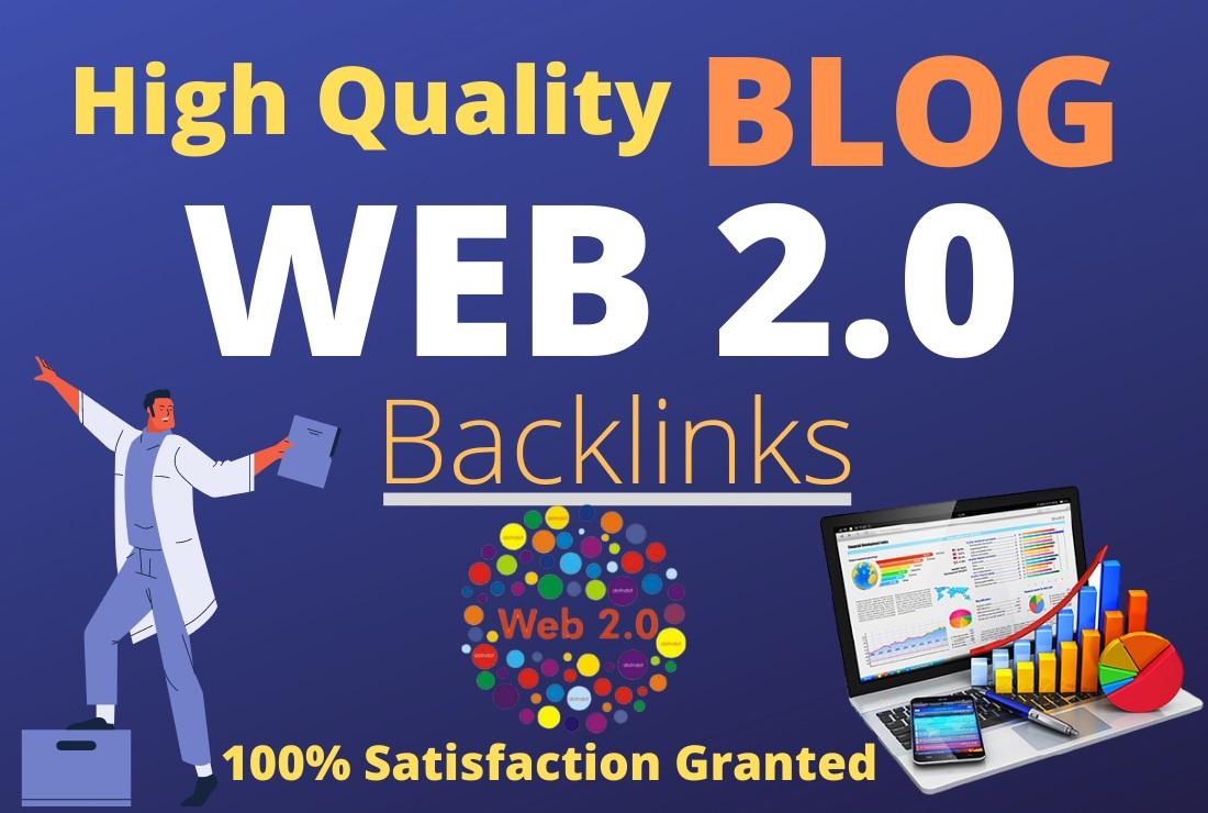 Unique 25 High quality BLOG Web2.0 PBN Subdomain Backlinks