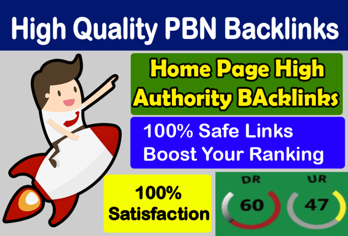 I will do manually 15 DR 50 plus seo quality PBN backlinks permanent