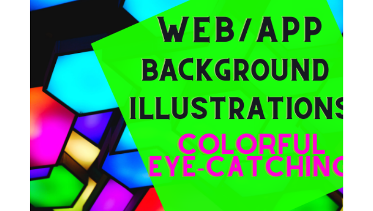I will draw flat illustrations for web and apps