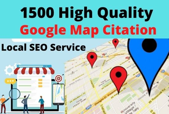 Create 1000 best google maps points citations for your Business