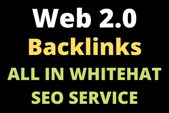 20 Manual Web 2.0 Dofollow Backlinks high quality for article submission