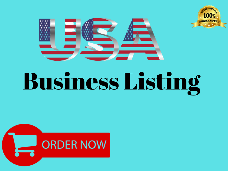 I will promote your business through top 50 US business listings