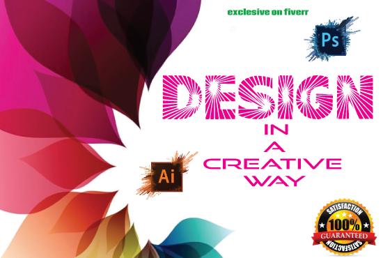 I will do professional graphic design