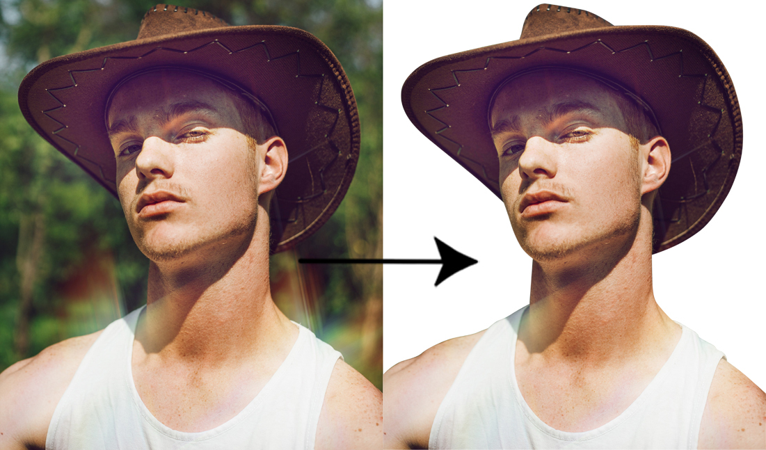 I will cut out images background removal 10 images