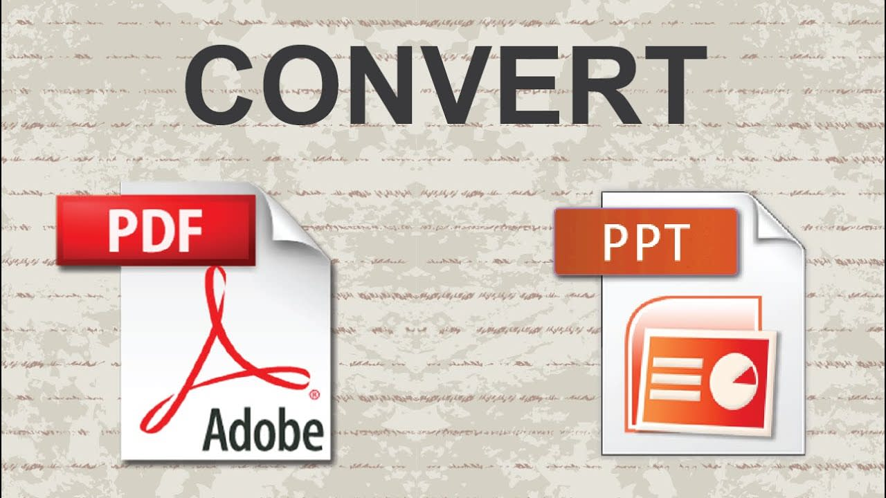 I will convert PDF to word,  pdf to ppt