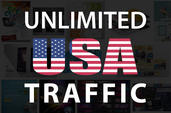 I will drive 1500 USA traffic for 1 days