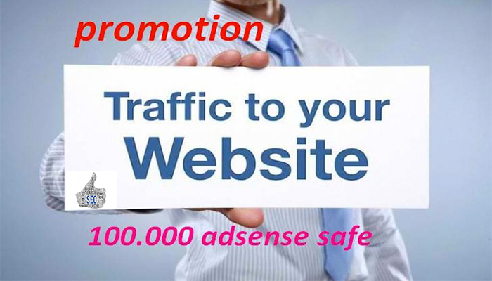 I will send minimum 100 000 visits on your website per week