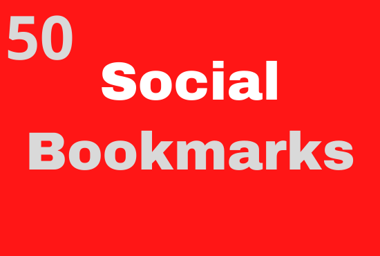I will do 50 Social Bookmarks For your Website On High Authority Websites
