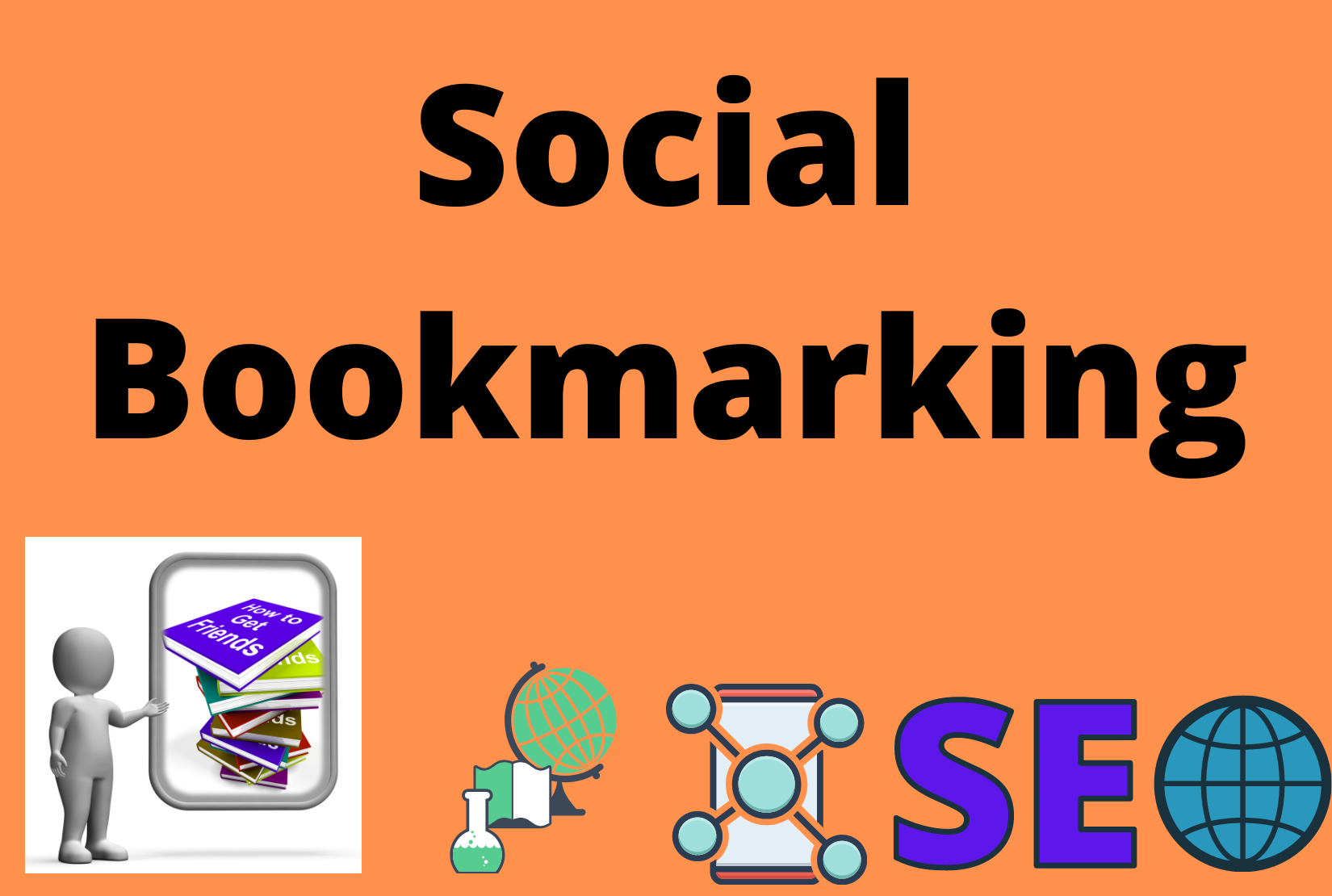 I will do 30 Social Bookmarks For your Website On High Authority Websites