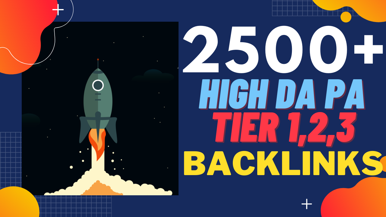 DIAMOND BACKLINK PACKAGE- 2500+ High DAPA Diversity Tired Link Building To Boost Your Google Ranking