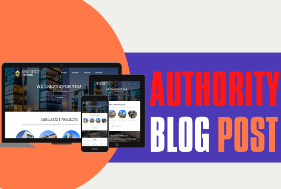 I will Provide 10 Authority blog post for Back-link