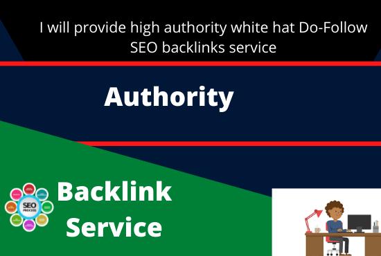 I will provide high authority 20 white hat do-follow SEO backlinks service