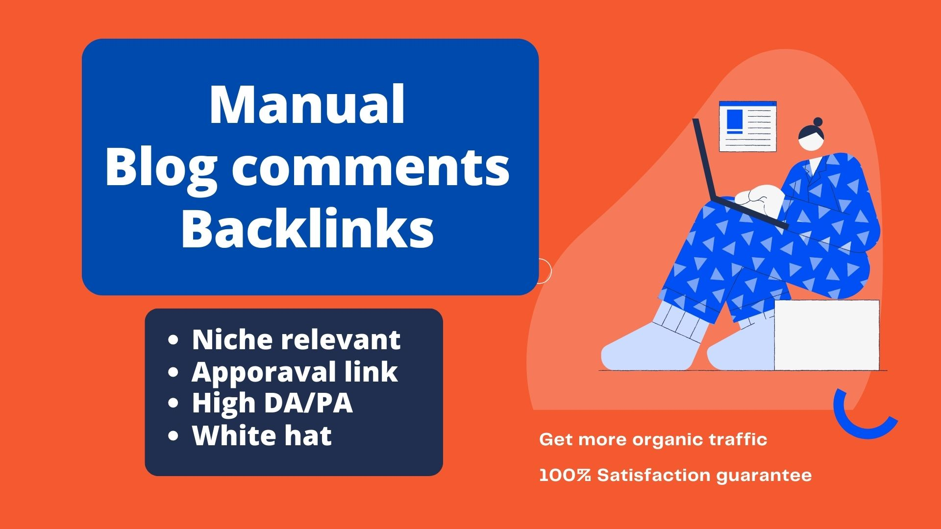 Niche Relevant Manual Blog Comments Backlinks