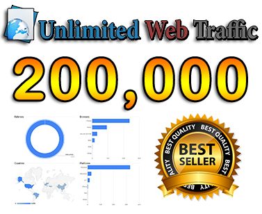 drive 200,000 web traffic, google visitors instagram, youtube, twitter, linkedin