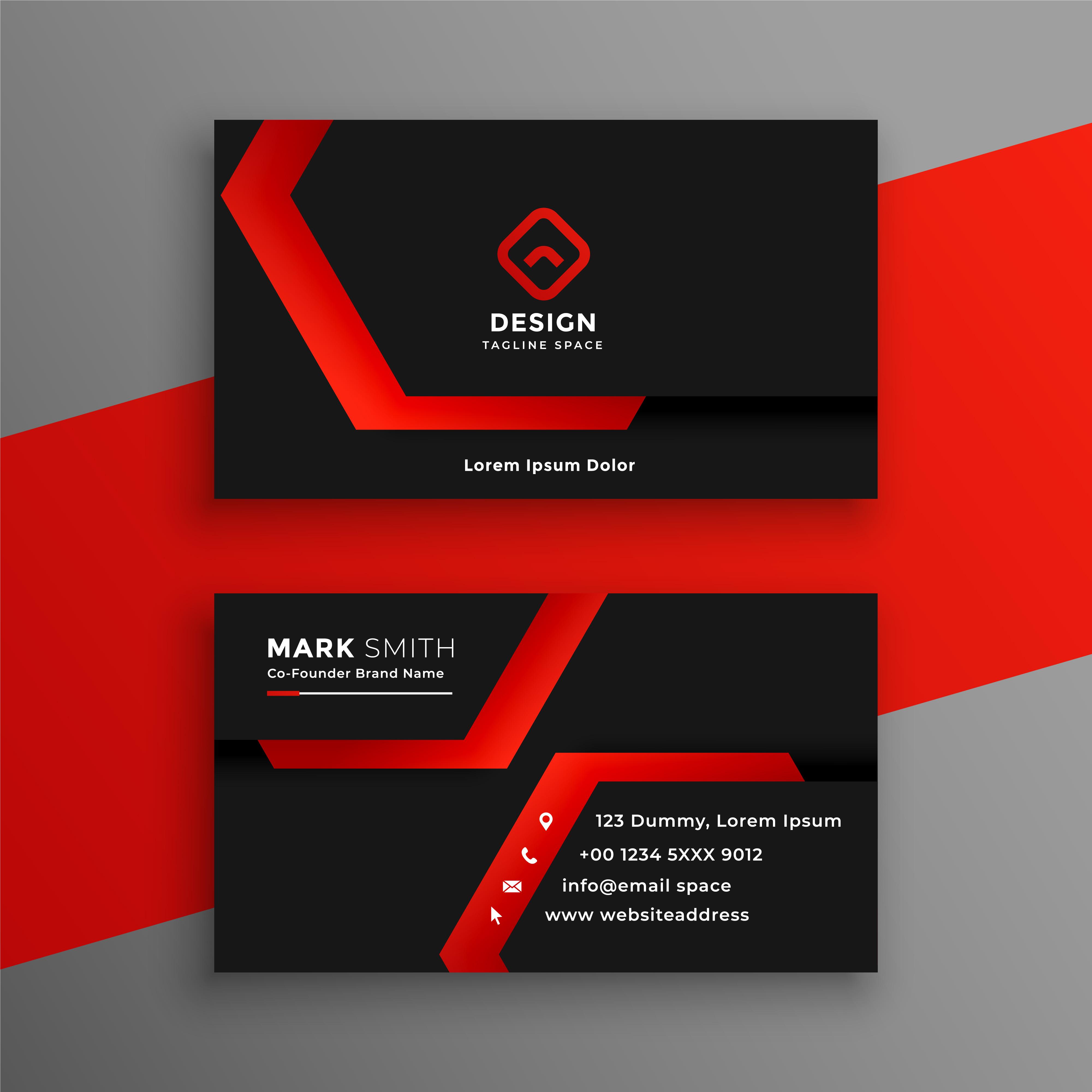 I will Design Unique Professional Business Card print ready
