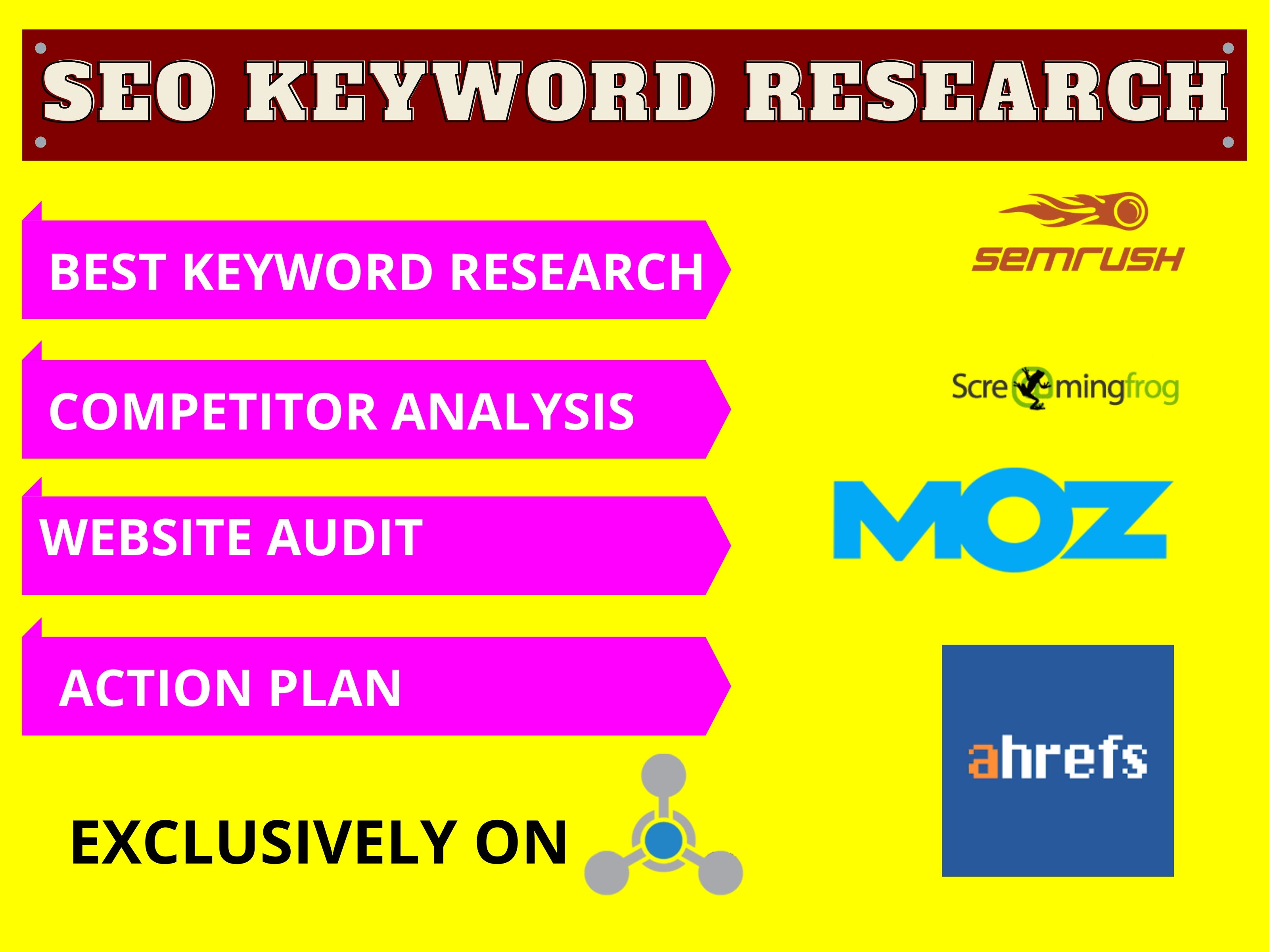 I will do best seo keyword research depending to your niche