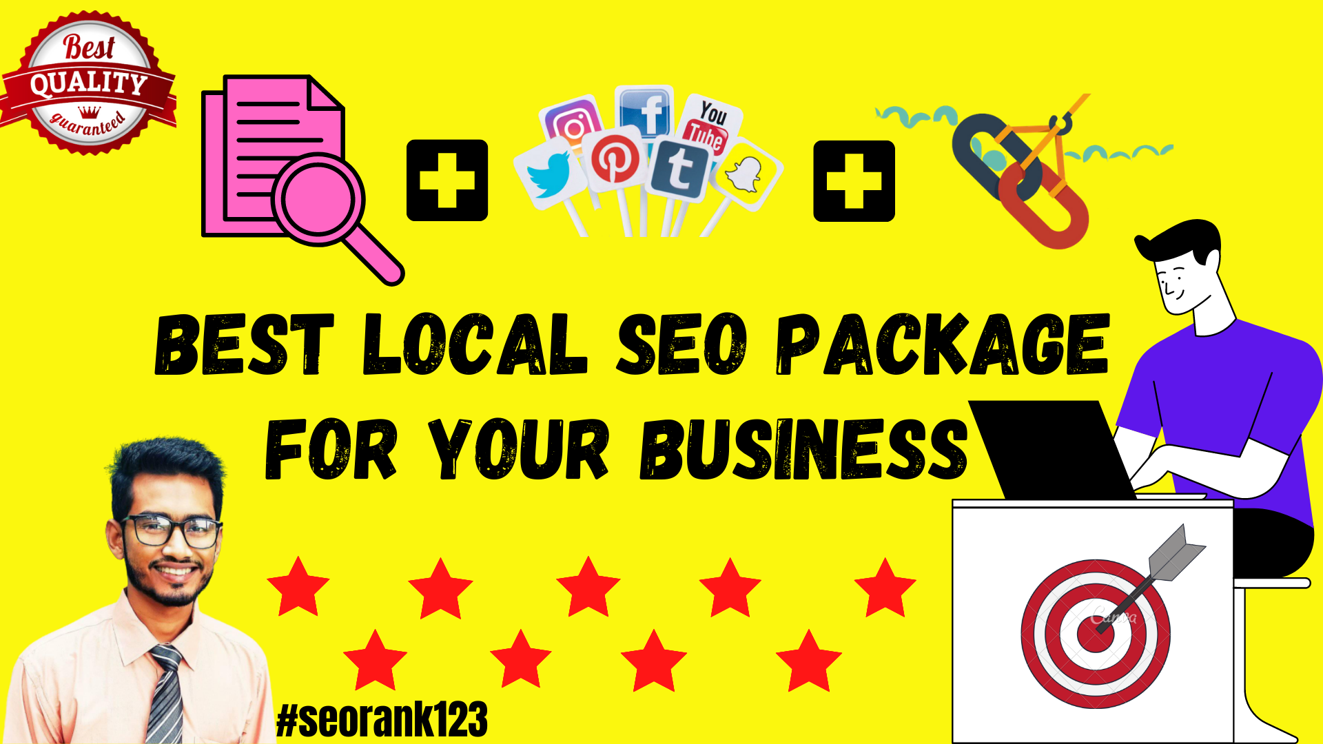 Rank your website by Magical SEO package