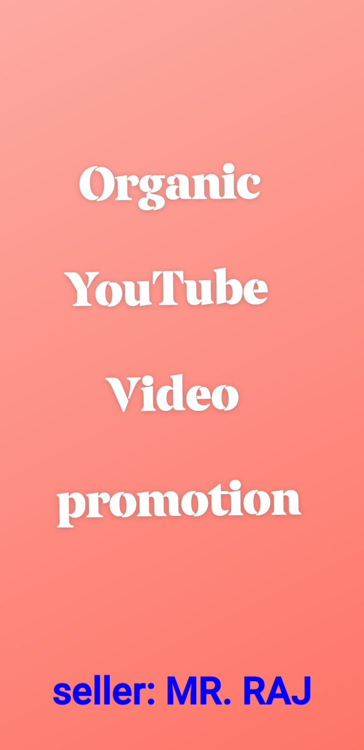 Best YouTube videos Audience promotion.