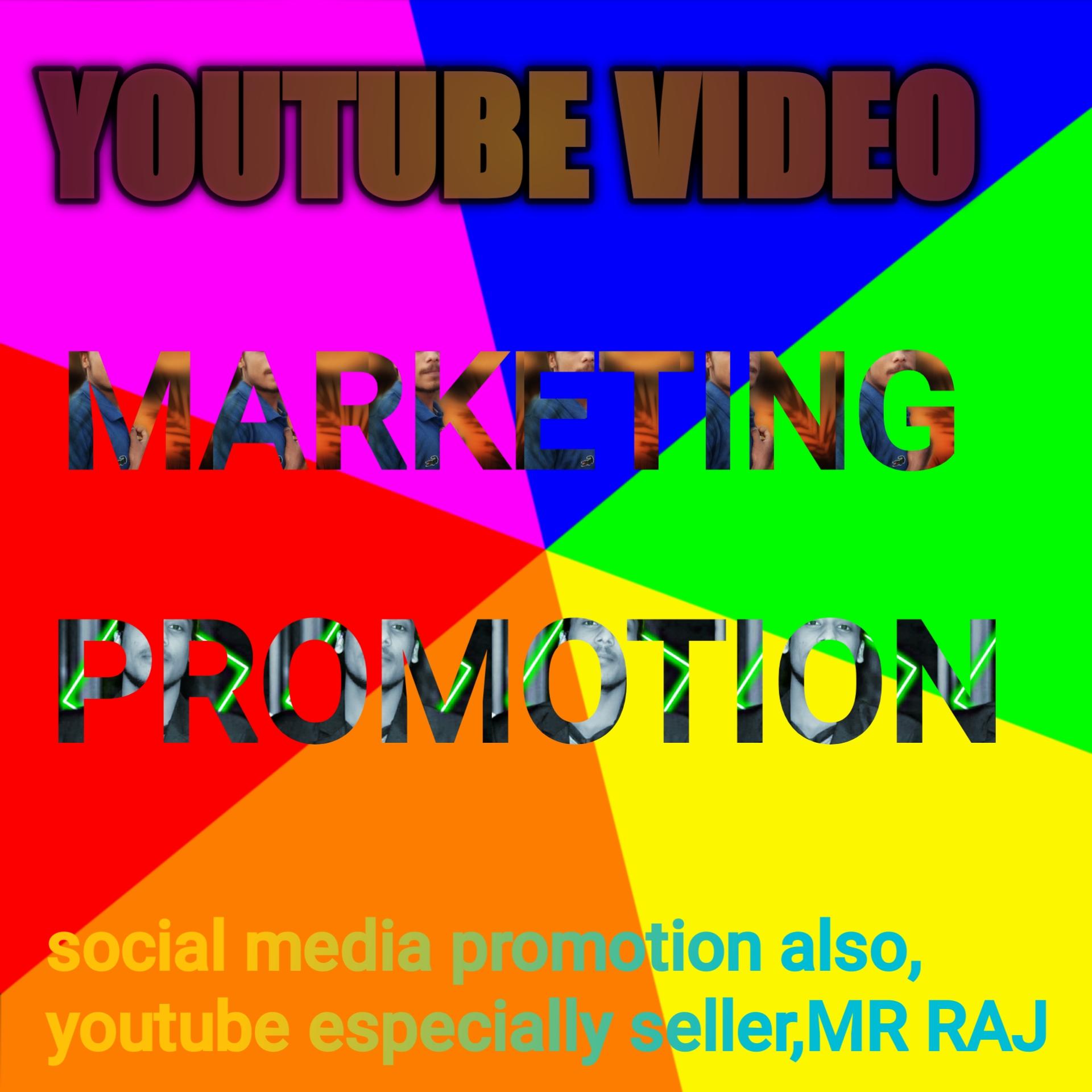 YouTube video marketing promotion.