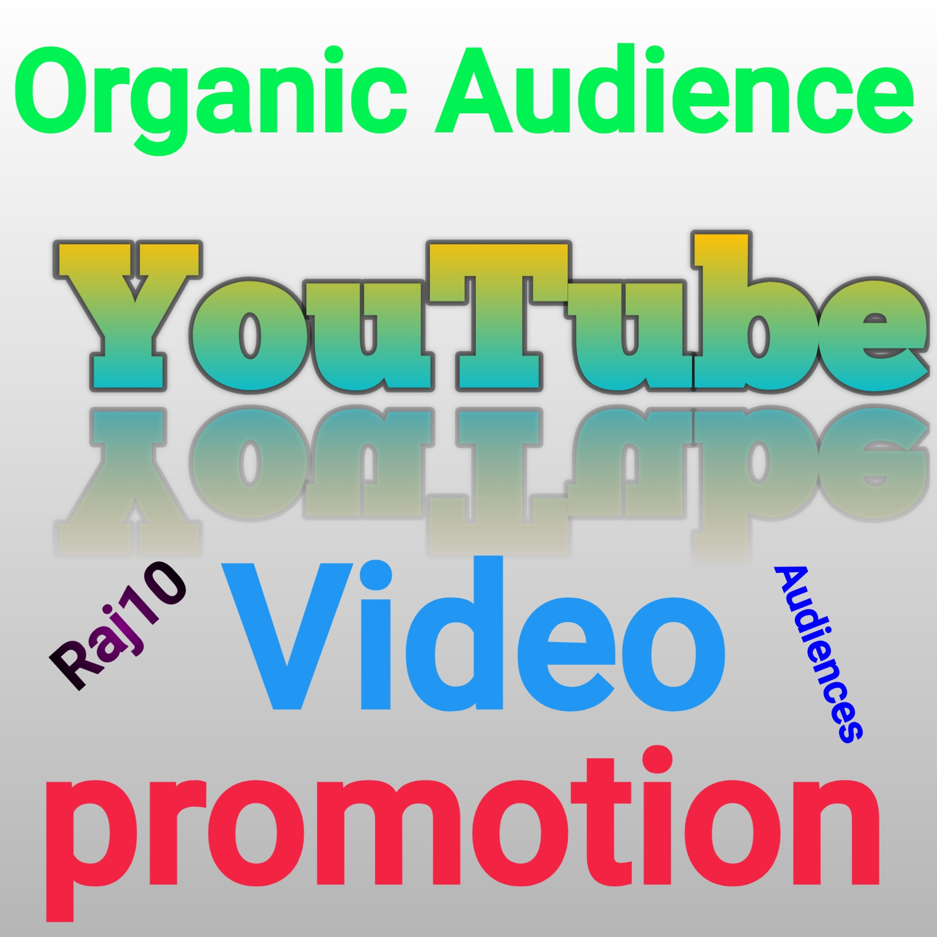 YouTube video Audience promotion.