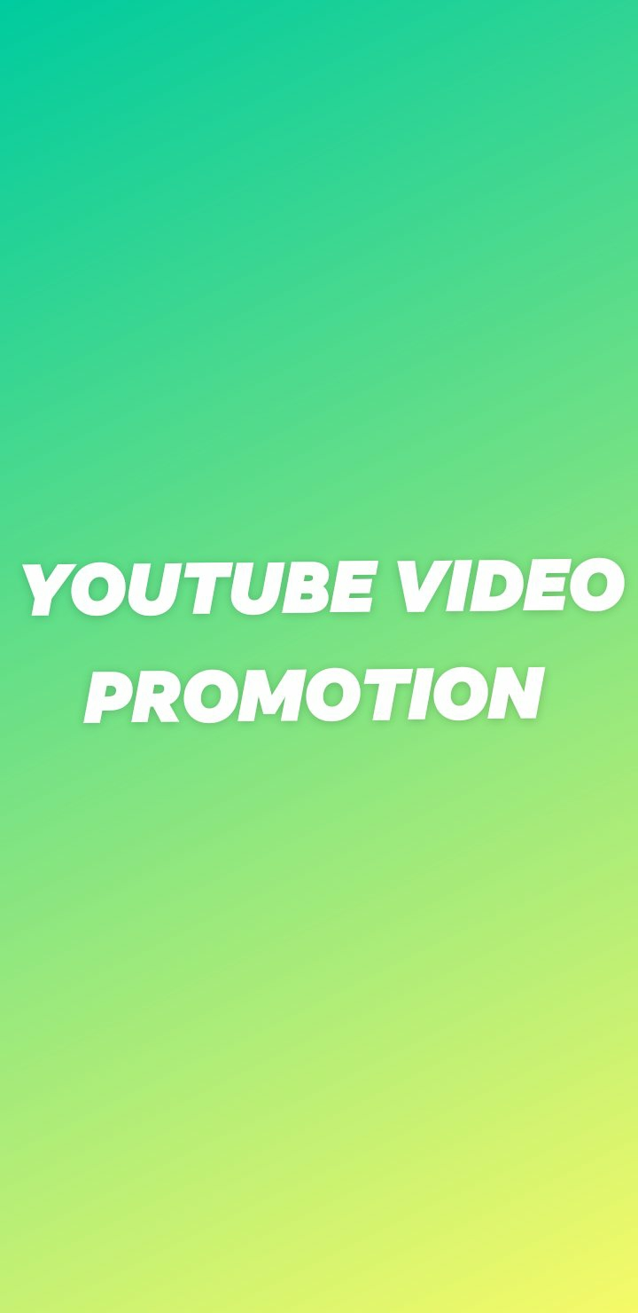 YouTube video promotion. High quality and fast delivery