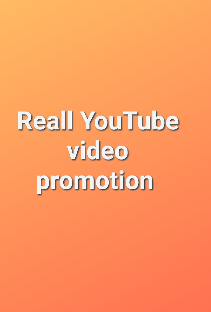 Safe and reliable YouTube video promotion