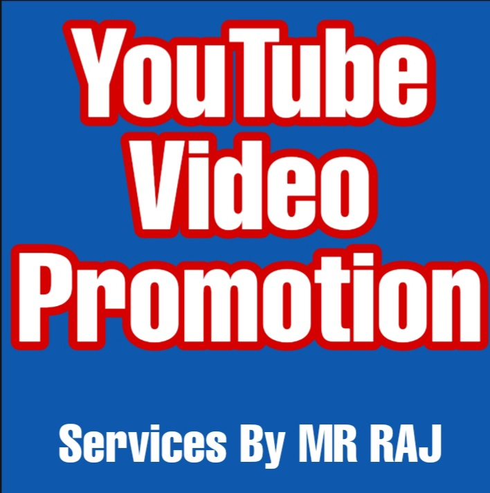 I'm giving YouTube video promotion Organic audience.