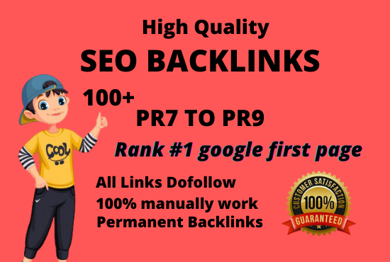 I will manually create 100+ pr9 da 90 dofollow profile backlinks