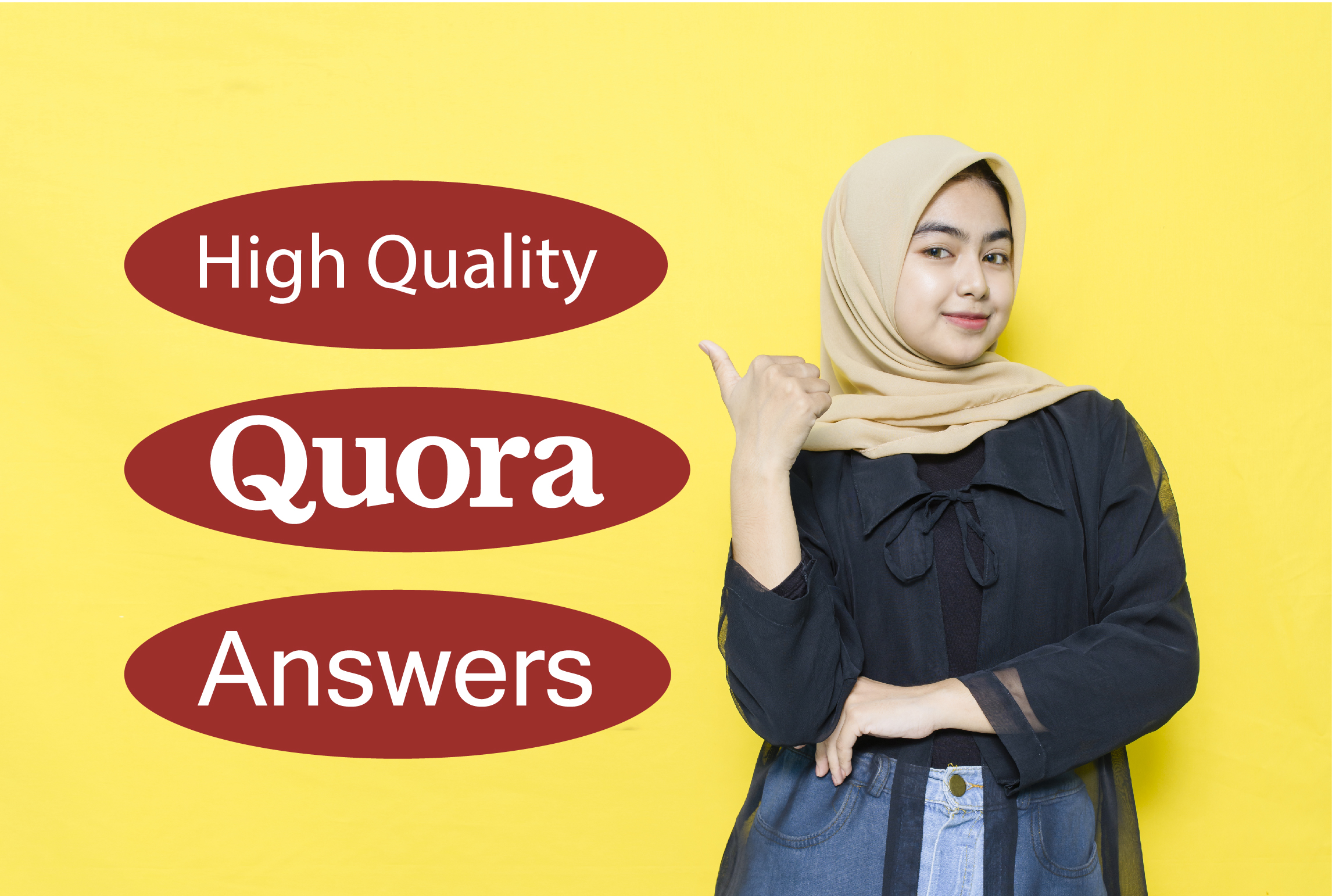 Promote website with HQ 10+ Quora answer with URL