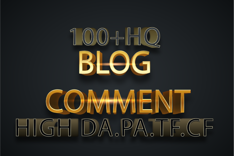 I will Do 100 Backlinks in High PA/DA CF/TF 100+ High Quality Blog Comments Only
