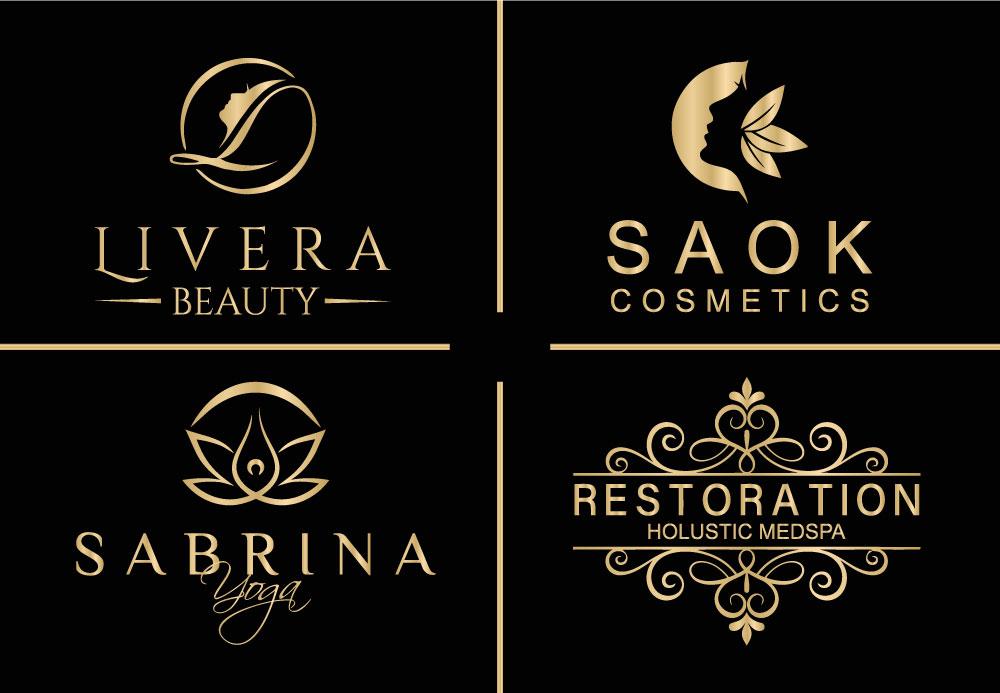I will Do Professional Beauty Logo Design