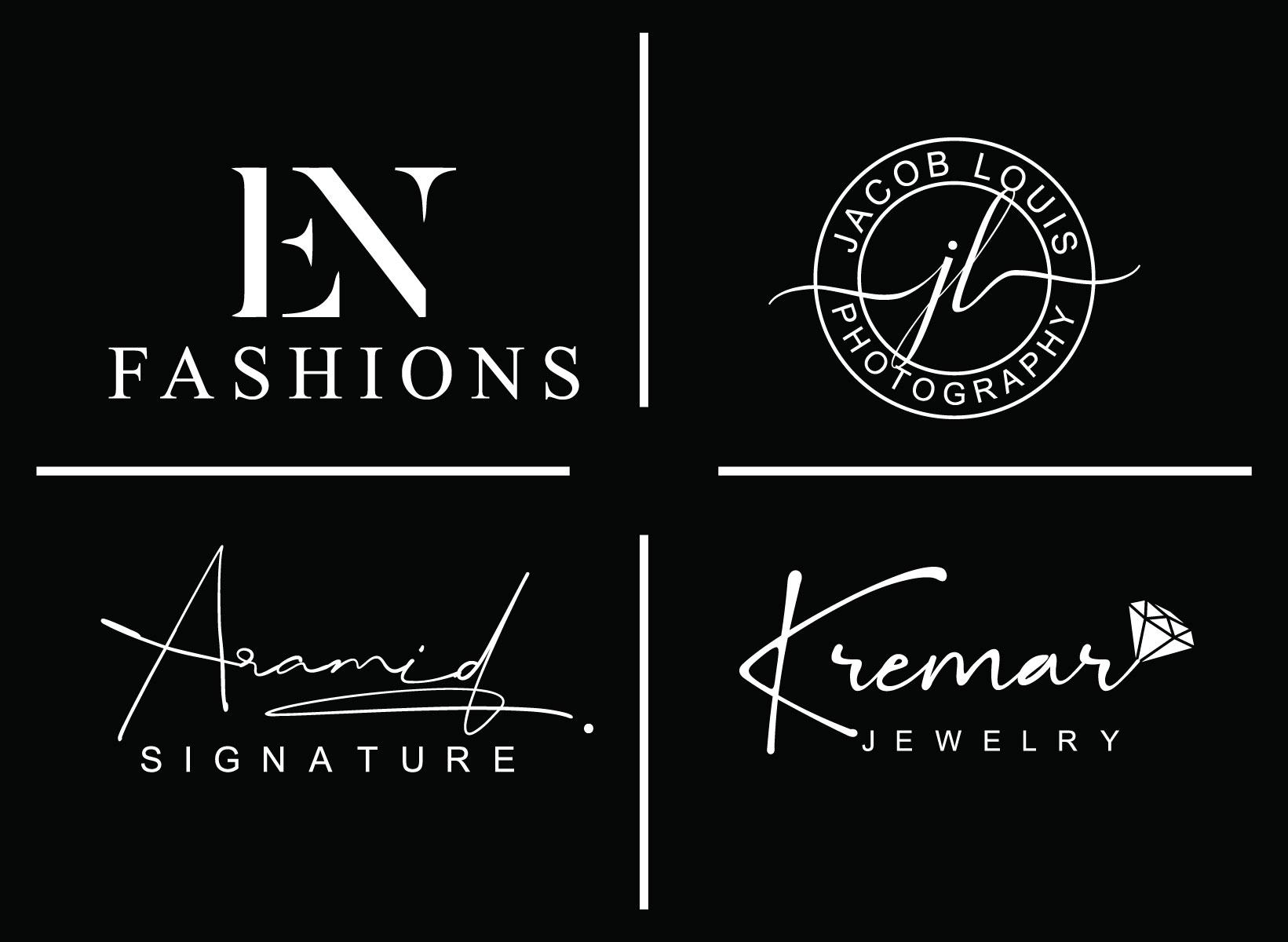 i will Do signature photography fashion Boutique logo design