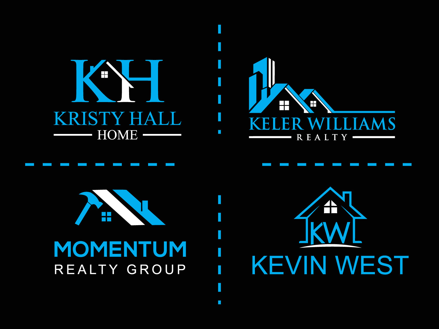 I will Do Luxury Real Estate Property Home Logo Design
