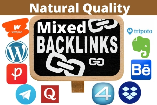 Create 30 Authority Unique Domain Mixed Backlinks DA 72+ and PA 68+ High Authority Websites