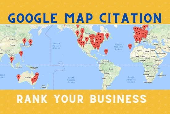 I will Optimize 400 Google maps citations for any country