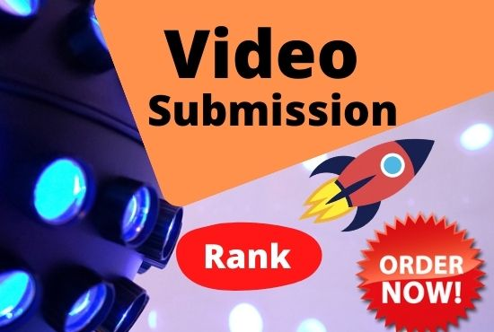 I will manually 20 video submission on top video sharing sites